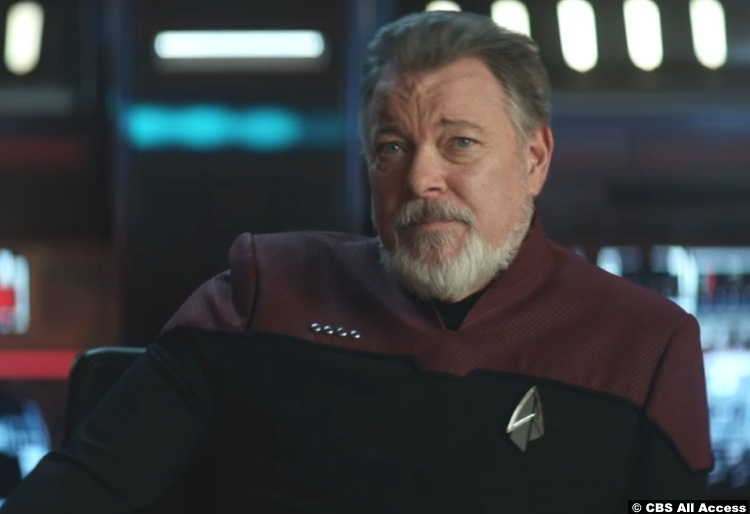 Picard S01e10 Jonathan Frakes William Riker