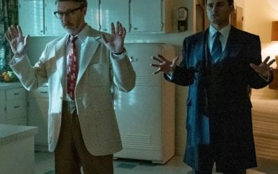 Project Blue Book S02e08 Michael Malarkey Captain Michael Quinn Aiden Gillen Dr Allen Hynek
