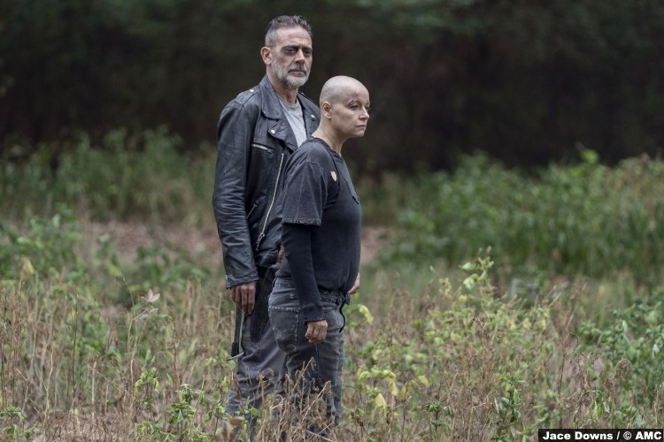 Walking Dead S10e12 Samantha Morton Alpha Jeffrey Dean Morgan Negan 2