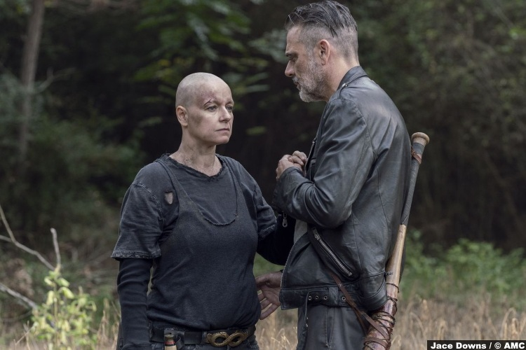 Walking Dead S10e12 Samantha Morton Alpha Jeffrey Dean Morgan Negan