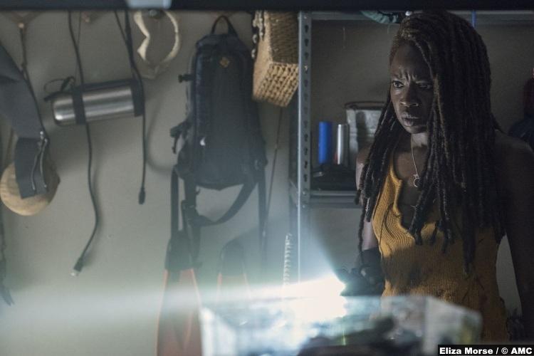 Walking Dead S10e13 Michonne Danai Gurira 6