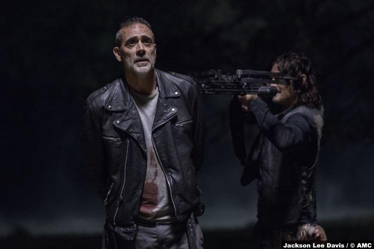 Walking Dead S10e14 Daryl Norman Reedus Jeffrey Dean Morgan Negan