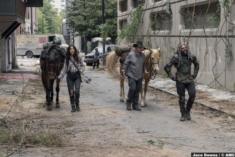 Walking Dead S10e14 Eleanor Matsuura Yumiko Khary Payton Ezekiel Eugene Josh Mcdermit