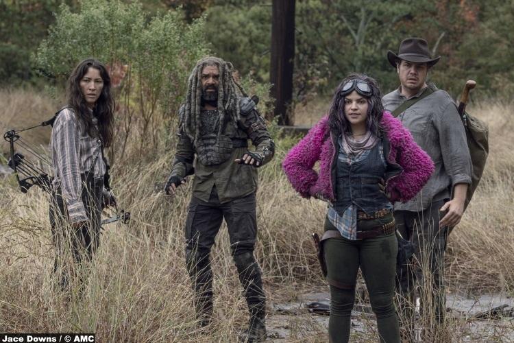 Walking Dead S10e15 Eleanor Matsuura Yumiko Khary Payton Ezekiel Eugene Josh Mcdermit Paola Lazaro Princess