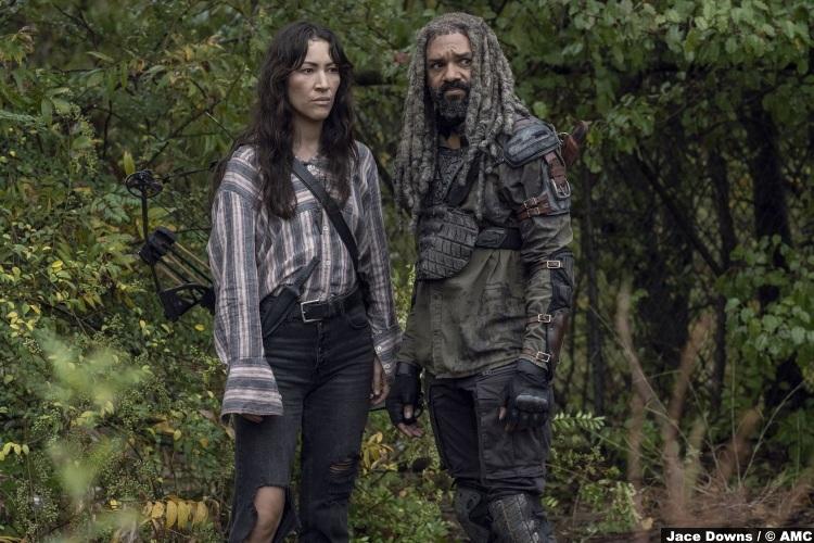 Walking Dead S10e15 Eleanor Matsuura Yumiko Khary Payton Ezekiel