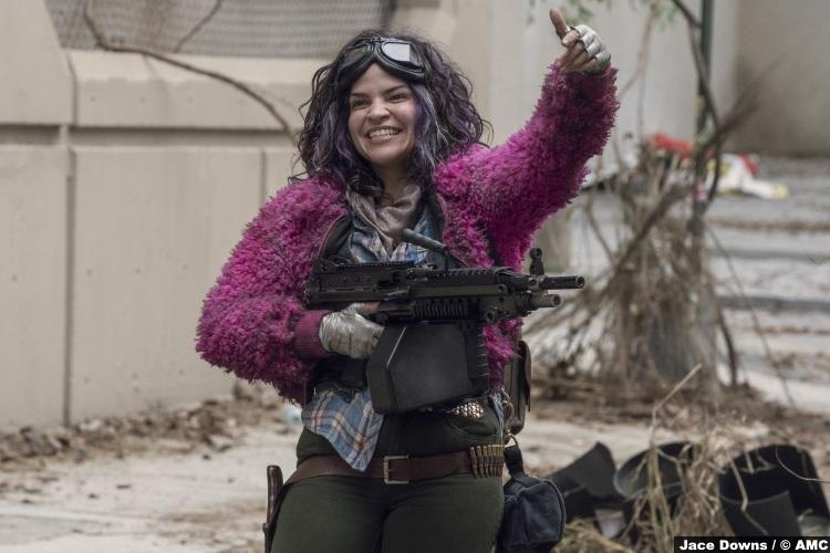 Walking Dead S10e15 Paola Lazaro Princess