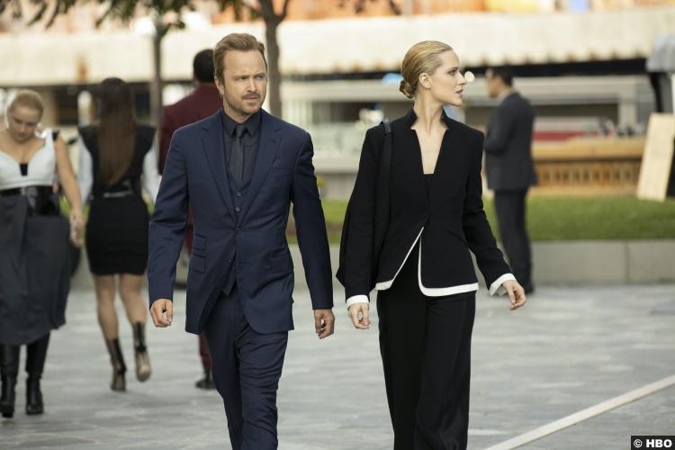 Westworld S03e04 Aaron Paul Caleb Nichols Evan Rachel Wood Dolores Abernathy