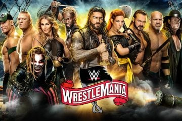 Wrestlemania 36 Poster 2
