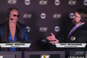 Aew Chris Jericho Tony Schiavone Commentary