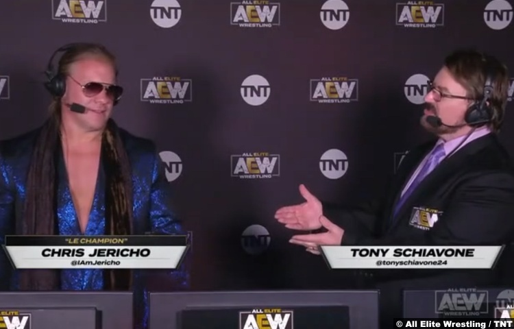 Aew Chris Jericho Tony Schiavone Commentary