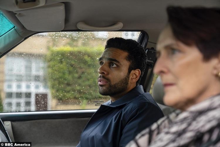 Killing Eve S03e03 Fiona Shaw Carolyn Martens Raj Majaj Mo