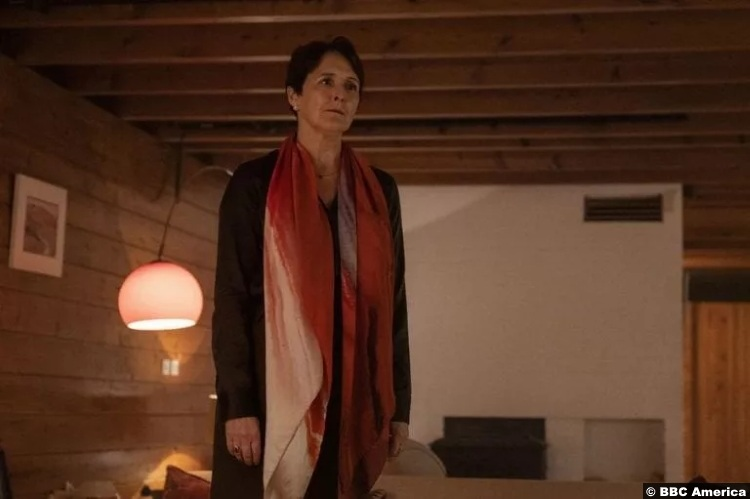 Fiona Shaw as Carolyn Martens in Killing Eve S03E07