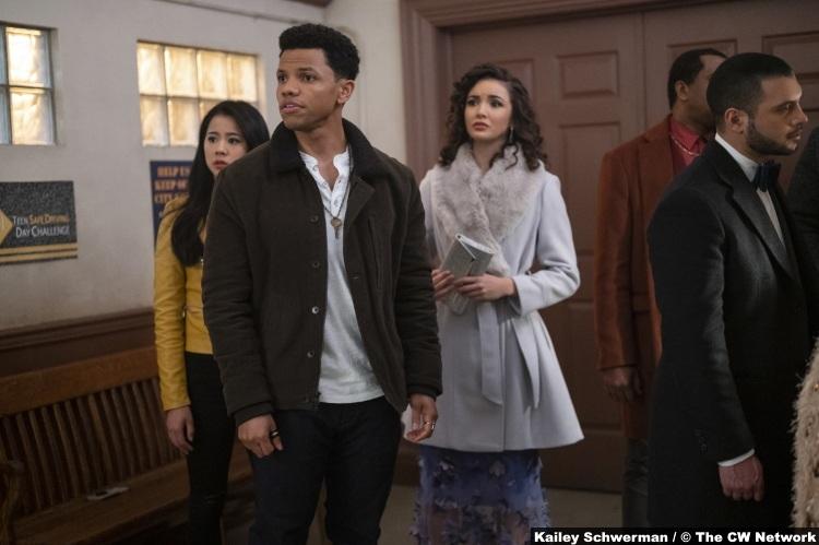 Nancy Drew S01e18 Leah Lewis George Tunji Kasim Nick Maddison Jaizani Bess