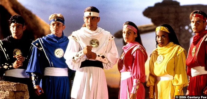 Power Rangers 1995 Karan Ashley Aisha Johnny Yong Bosch Adam Steve Cardenas Rocky Jason David Frank Tommy Amy Jo Johnson Kimberly David Yost Billy 2