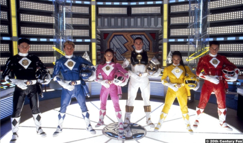 Power Rangers 1995 Karan Ashley Aisha Johnny Yong Bosch Adam Steve Cardenas Rocky Jason David Frank Tommy Amy Jo Johnson Kimberly David Yost Billy