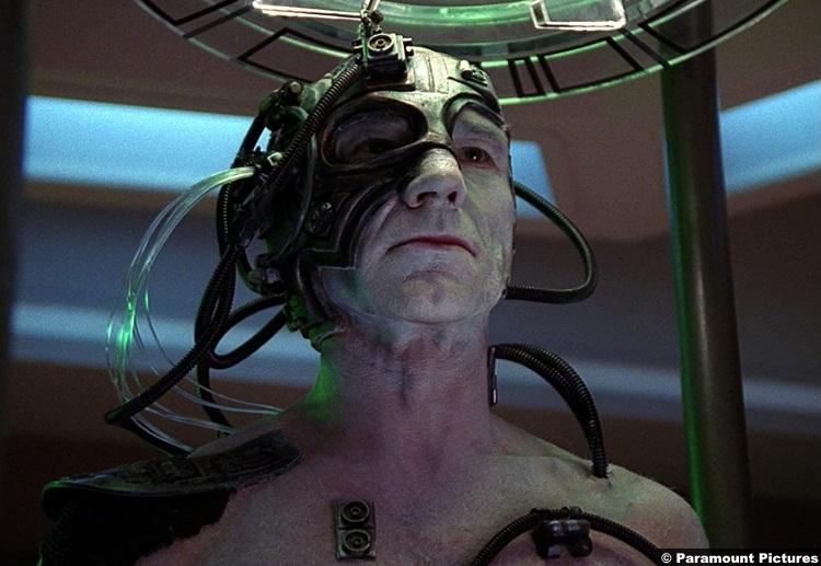 Star Trek Tng S04e01 Patrick Stewart Jean Luc Borg 2