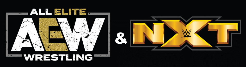 AEW And NXT Banner
