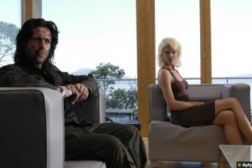 Battlestar Galactica S02e03 Tricia Helfer Number Six Caprica Natalie Faust James Callis Gaius Baltar