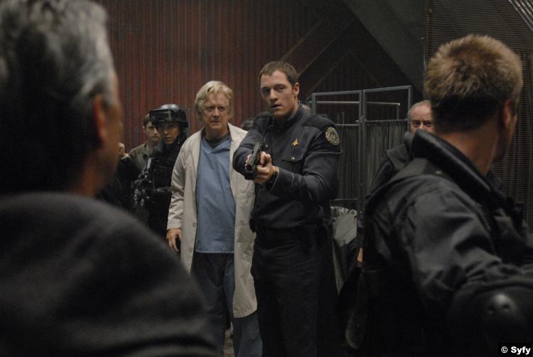 Battlestar Galactica S03e14 Tahmoh Penikett Karl Agathon