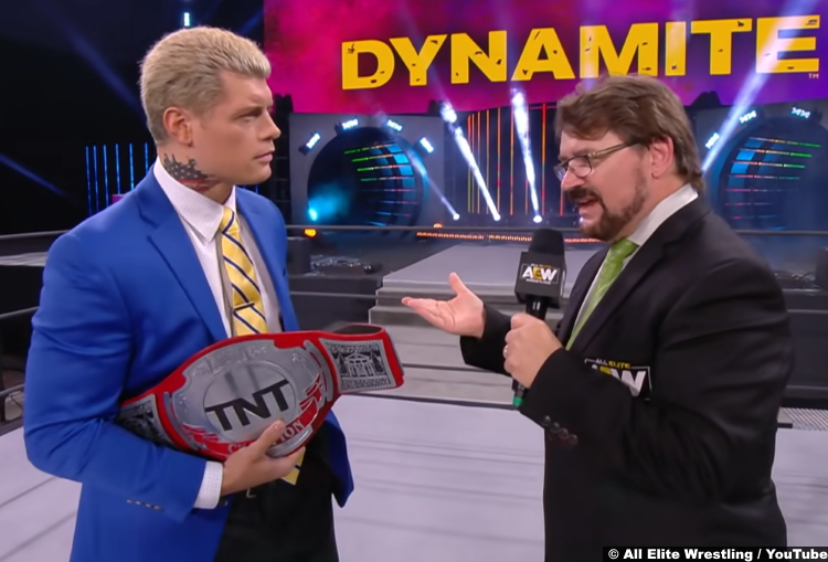 Cody Rhodes Tony Schiavone May 2020