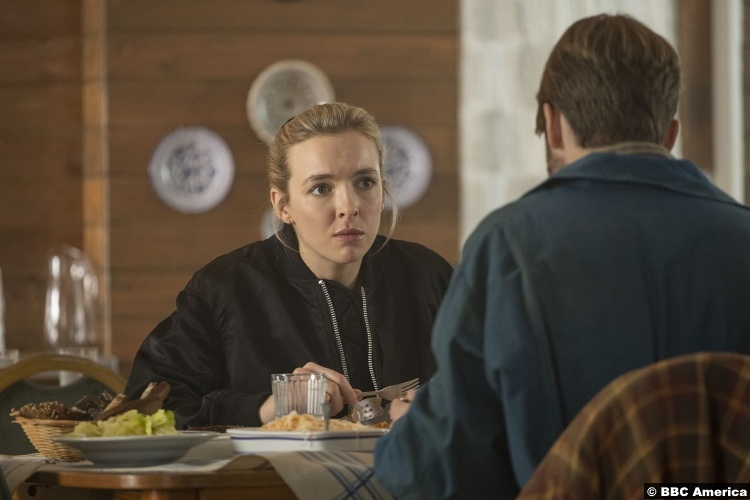 Killing Eve S03e05 Jodie Comer Villanelle Rob Feldman Pyotr