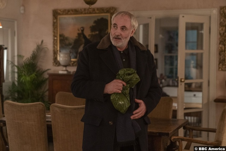 Killing Eve S03e08 Kim Bodnia as Konstantin Vasiliev