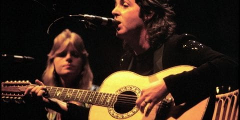 Linda Paul Mccartney 1976