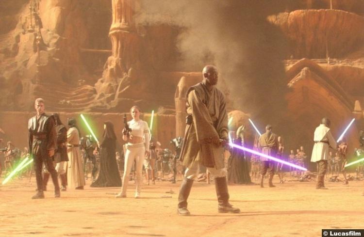 Star Wars Attack Clones Jedi Battle 2
