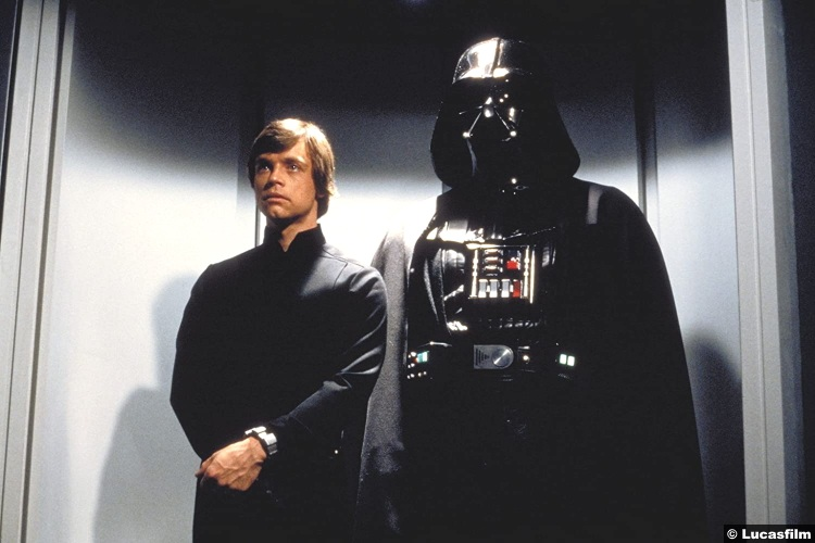 Star Wars Return Jedi Luke Skywalker Darth Vader Mark Hamill David Prowse
