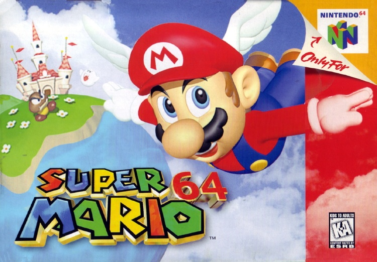 Super Mario 64 Game Cover