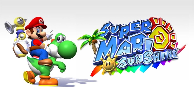 Super Mario Sunshine Banner