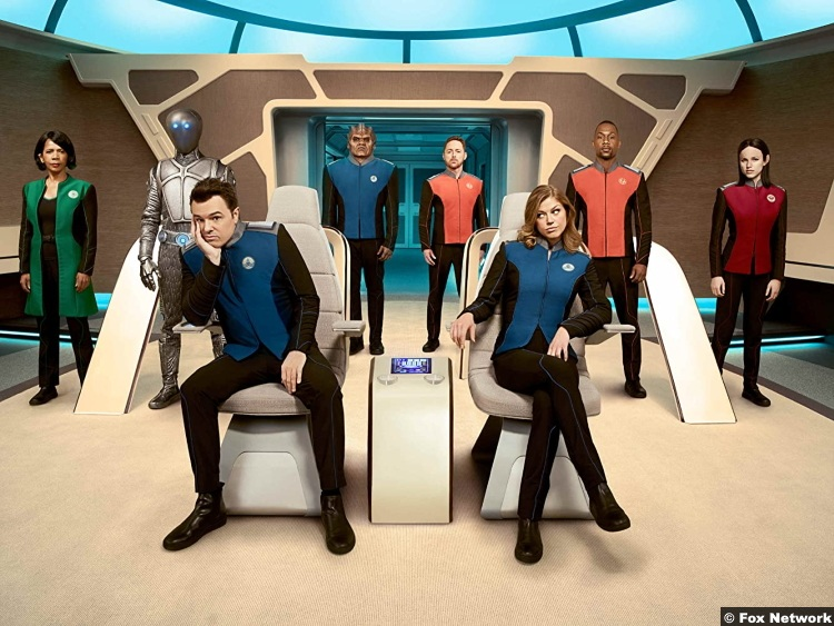 The Orville S01 Cast