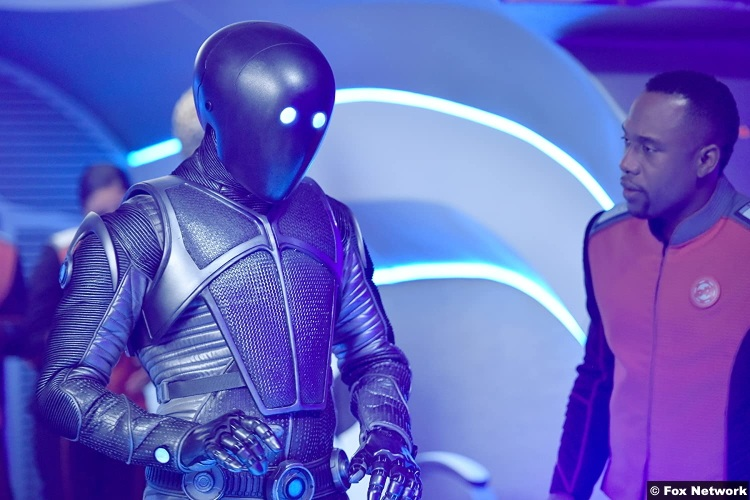 The Orville S01e11 Mark Jackson and J Lee as Isaac John LaMarr