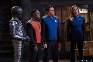 The Orville S02e07 Mark Jackson J Lee Seth MacFarlane Adrianne Palicki Isaac John LaMaar Captain Ed Mercer Kelly Grayson