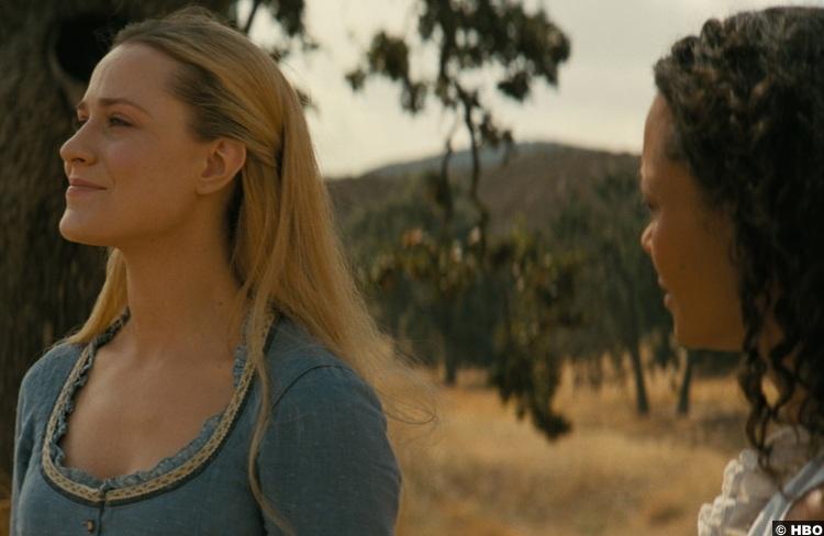 Westworld S03e08 Evan Rachel Wood Dolores Abernathy Thandie Newton Maeve Millay