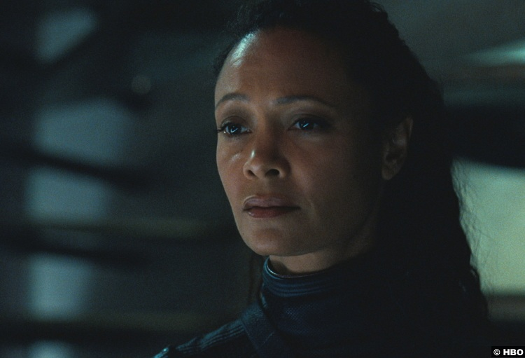 Westworld S03e08 Thandie Newton Maeve Millay