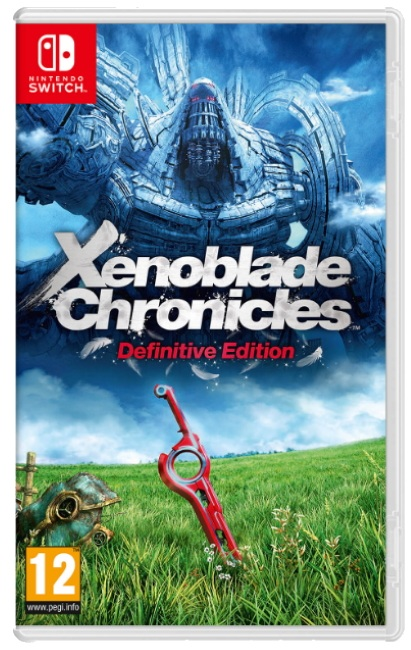 Xenoblade Chronicles Definitive Edition Switch Game Cover