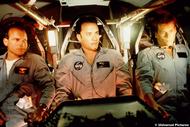 Apollo 13 Bill Paxton (Fred Haise) Tom Hanks (Jim Lovell) Kevin Bacon (Jack Swigert)