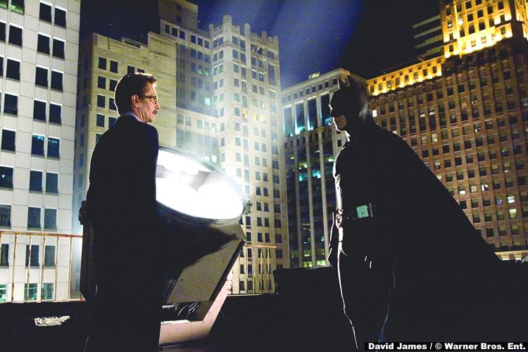 Batman Begins Gary Oldman Jim Gordon Christian Bale