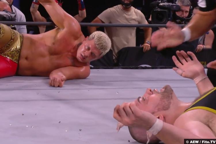 Cody Rhodes Eddie Kingston