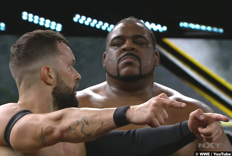 Finn Balor Keith Lee NXT June 2020