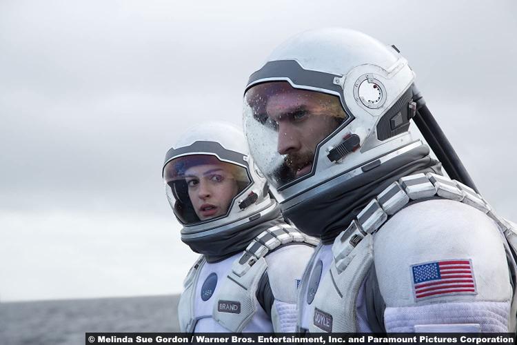 Interstellar Anne Hathaway Wes Bentley