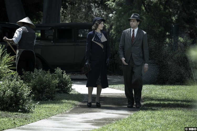 Perry Mason S01e01 Juliet Rylance (Della Street) Matthew Rhys
