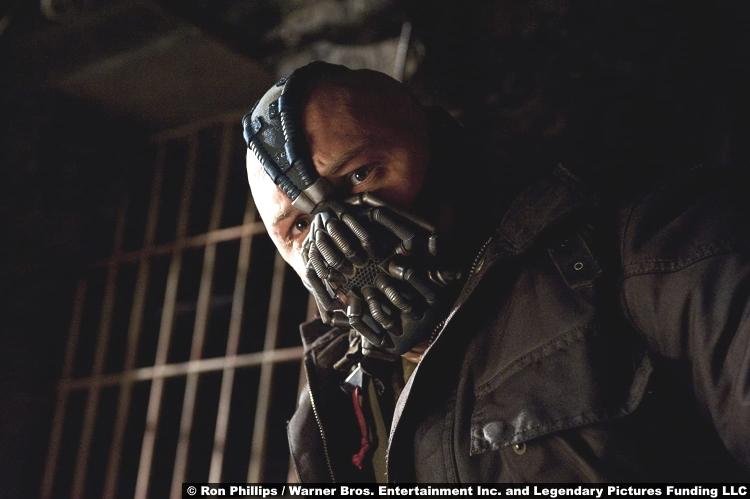 The Dark Knight Rises Tom Hardy Bane
