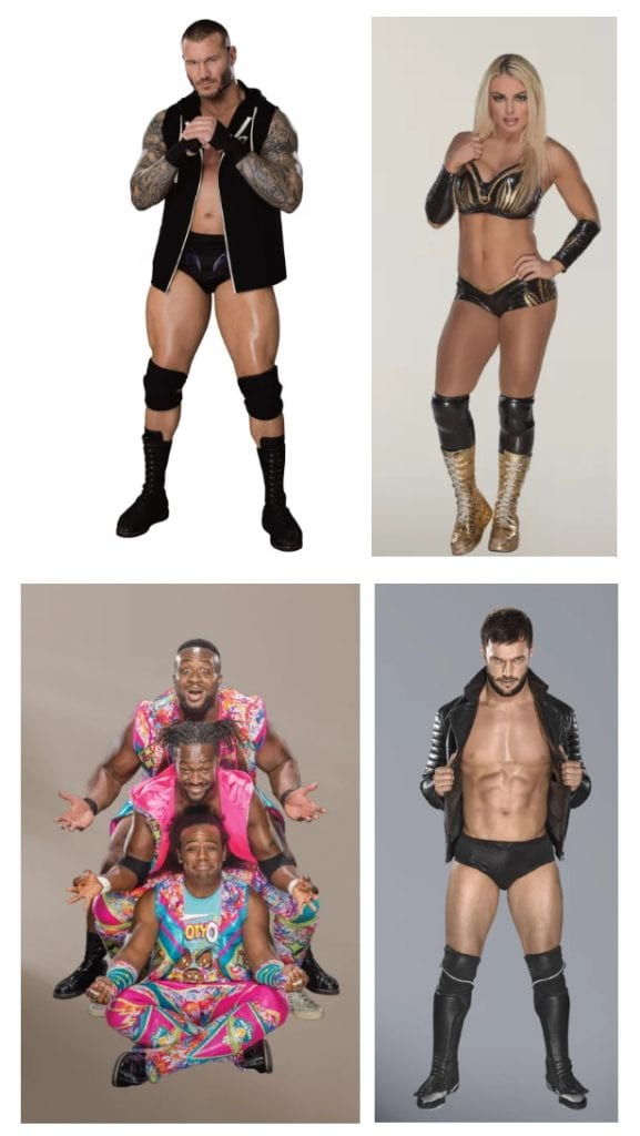 WWE Fatheads Randy Orton Mandy Rose New Day Finn Balor