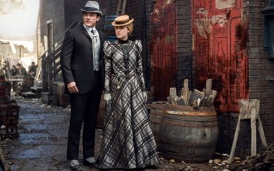The Alienist S02 Luke Evans Dakota Fanning John Moore Sara Howard 2