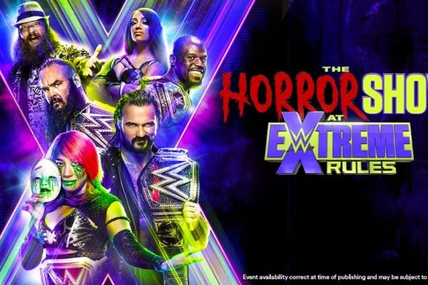 Wwe Extreme Rules 2020 Poster