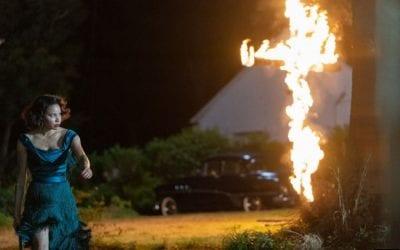 Lovecraft Country S01e03 Jurnee Smollett Letitia Leti Lewis Burning Cross