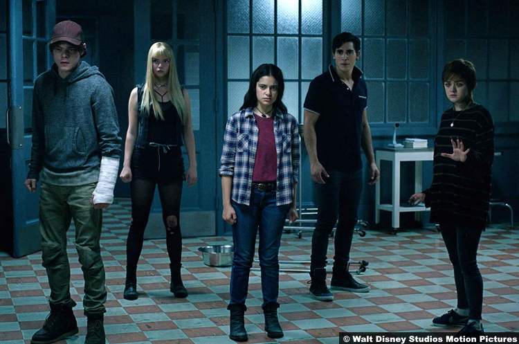 New Mutants Charlie Heaton Anya Taylor Joy Blu Hunt Henry Zaga Maisie Williams