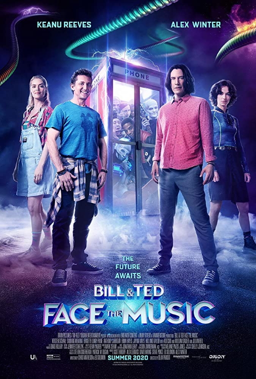 Bill And Ted Face The Music Poster